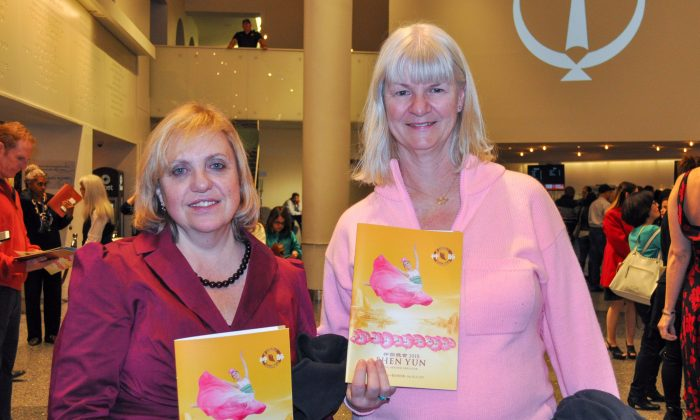 Contract Manager Enjoys the Culture that Comes Forth in Shen Yun Performance