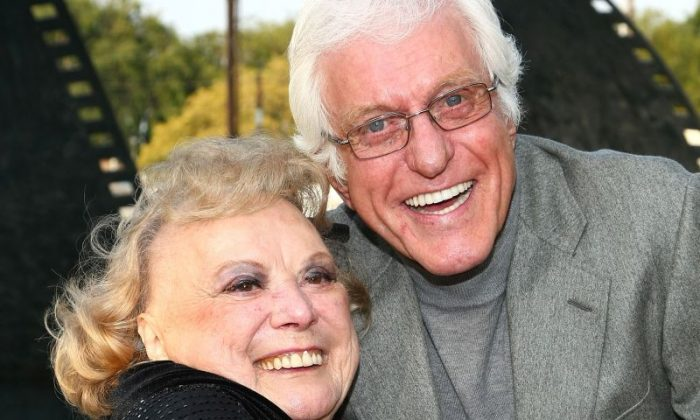 Actress Rose Marie and actor Dick Van Dyke attend the 2008 Backlot Film Festival Tribute to Carl Reiner on April 5, 2008, in Culver City, California.  (Alberto E. Rodriguez/Getty Images)