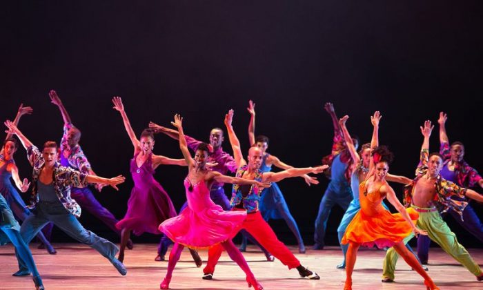"Alvin Ailey American Dance Theater  in ""Winter in Lisbon."" (Christopher Duggan)"
