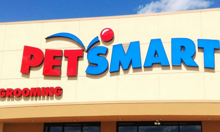 "A 22-year-old PetSmart employee was seriously injured while grooming a pit bull mix in Cape Cod, Mass. on Dec. 27, 2017. (""PetSmart"" by Mike Mozart/Flickr [CC BY-SA 2.0 (ept.ms/2utDIe9)])"