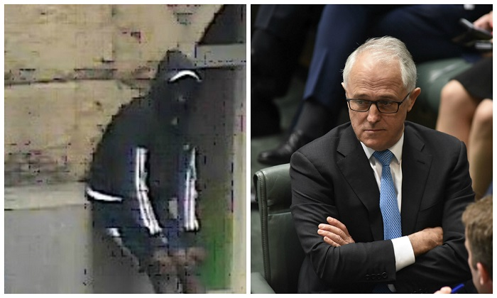 """Australian Prime Minister Malcolm Turnbull has backed Federal Minister Greg Hunt who has said that African crime gangs in the city of Melbourne are """"out of control."""" (L image: Victoria Police, R image: Stefan Postles/Getty Images)"""