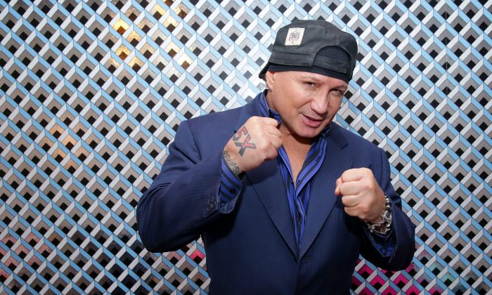 Former boxing champion Vinny Paz attends the Miles Teller Vanguard Award Presentation during the 19th Annual Savannah Film Festival presented by SCAD on October 25, 2016 in Savannah, Georgia. (Cindy Ord/Getty Images for SCAD)
