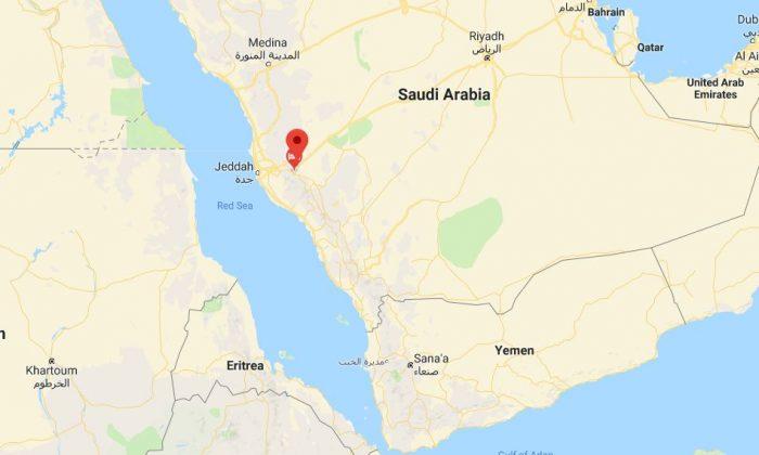 Taif, Saudi Arabia. (Google Maps screenshot)