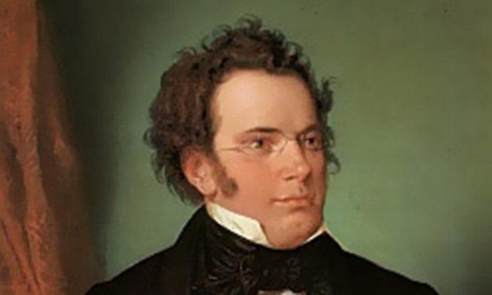 """Franz Schubert,"" 1875, by Wilhelm August Rieder (1796–1880). Oil painting after watercolor, 1825, Historisches Museum der Stadt Wien. (Public Domain)"