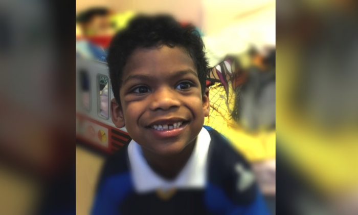 A missing 6-year-old boy was located about four hours after he was reported missing in a snowstorm in Newark, New Jersey, on Thursday, Jan. 8. (Newark Department of Public Safety)