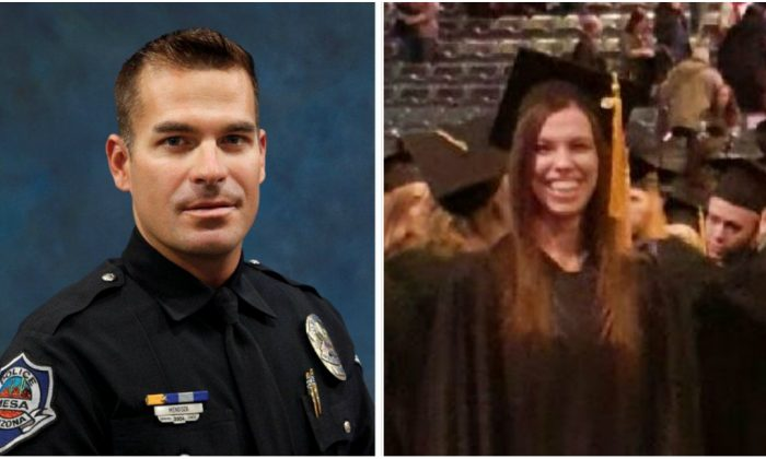Brandon Mendoza (L) and Sarah Root were both killed by drunk illegal aliens in separate motor vehicle incidents. (Photos courtesy of Mary Ann Mendoza and Michelle Root)