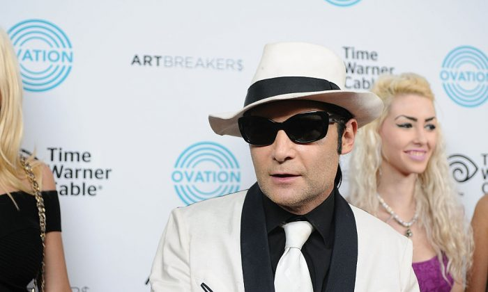"""Corey Feldman attends the Ovation TV premiere screening of """"Art Breakers""""in Los Angeles on Oct. 1, 2015. (Photo by Araya Diaz/Getty Images for Ovation)"""