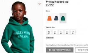 H&M Apologizes After 'Coolest Monkey' Sweatshirt Ad Featuring Black Child Prompts Backlash