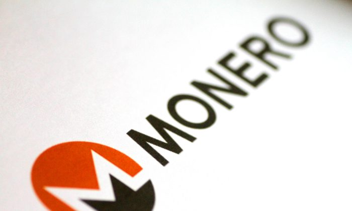 The Monero cryptocurrency logo is seen in this illustration photo Jan. 8, 2018. (Reuters/Thomas White/Illustration)