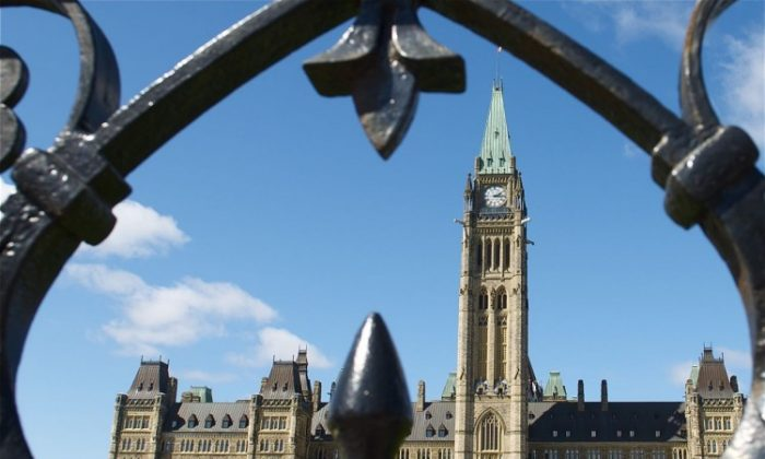 Close to 90 percent of Canadians say it is unacceptable for parliamentarians to go on sponsored trips, according to a new survey. (Matthew Little/The Epoch Times)