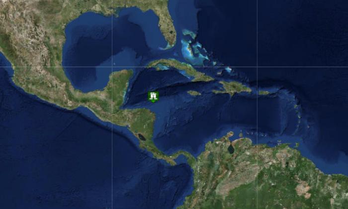 Tsunami advisory cancelled in Carribean on Jan. 10, 2018. (Screenshot via www.tsunami.gov)