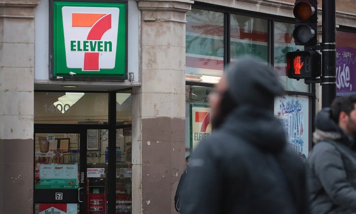Immigration officials raided nearly 100 7-Eleven stores across the country this morning checking the immigration status of store employees. (Scott Olson/Getty Images)