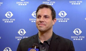 Musician Inspired by Orchestra at Shen Yun