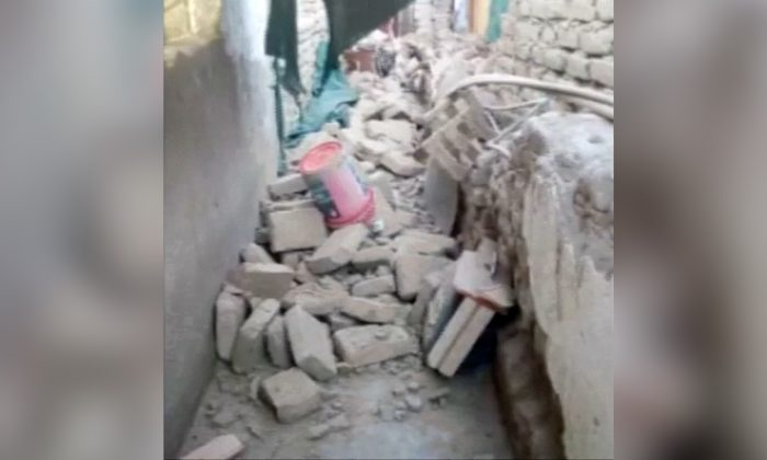 A strong magnitude 7.1 earthquake struck the coast of southern Peru, leaving one dead and several dozen injured, while causing homes and roads to collapse on Jan. 14, 2018. (Screenshot/Reuters)