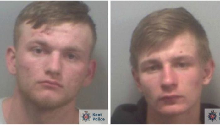 Alex Macdonald and Charlie White. (Kent Police)