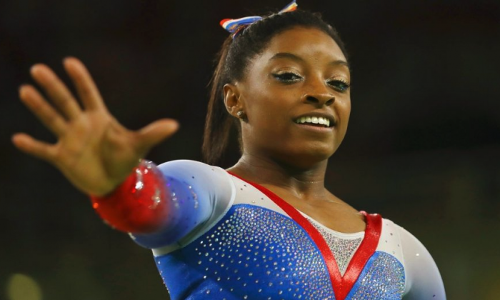 Simone Biles won four gold medals at the 2016 Rio de Janeiro Olympics.  (Mike Blake/Reuters)