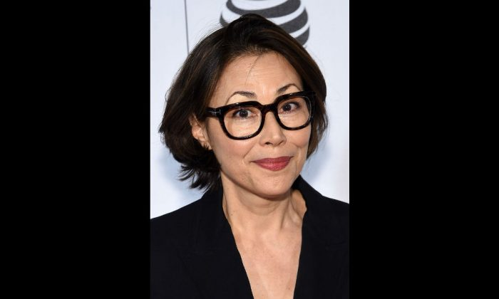Ann Curry in New York City on April 18, 2016 . (Jamie McCarthy/Getty Images for Tribeca Film Festival)