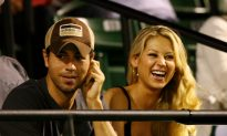 Enrique Iglesias and Anna Kournikova Share First Photos of Newborn Twins