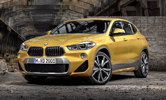 BMW x2. (BMW Canada)