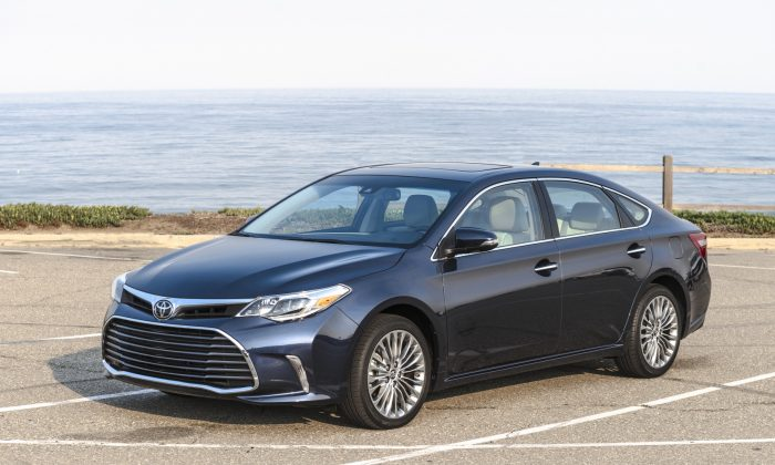 2018 Toyota Avalon. (Courtesy of Toyota)