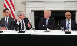 Apple CEO Tim Cook Cites Trump's Tax Reform for $350 Billion US Investment