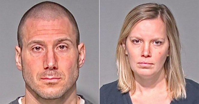 Antoni Apollo (L) and Kristin Schrank. (Milwaukee County Sheriff's Office)
