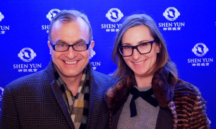 Creative Shen Yun Inspires Architect