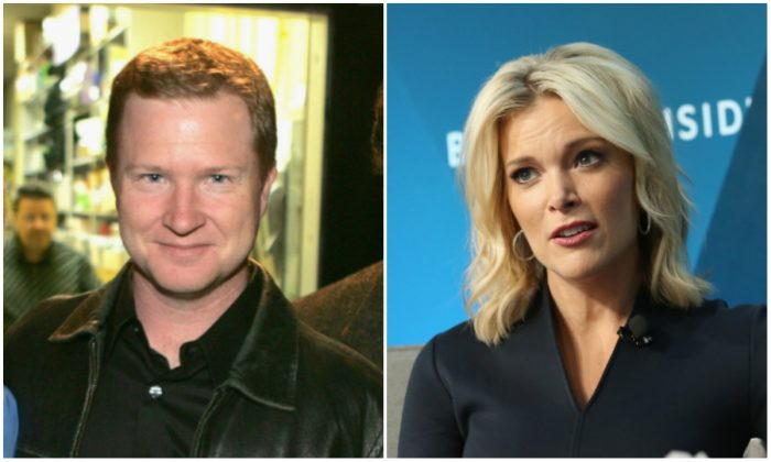 (L) Former NBC writer Kevin Bleyer; (R) Megyn Kelly, NBC News Anchor and host of 'Megyn Kelly Today.' (Monica Schipper/Getty Images)