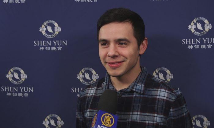 Singer-Songwriter David Archuleta Moved by Spirituality in Shen Yun