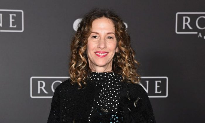 """Producer Allison Shearmur attends the premiere of Walt Disney Pictures and Lucasfilm's """"Rogue One: A Star Wars Story"""" at the Pantages Theatre in Hollywood, California on Dec. 10, 2016.  (Photo by Ethan Miller/Getty Images)"""