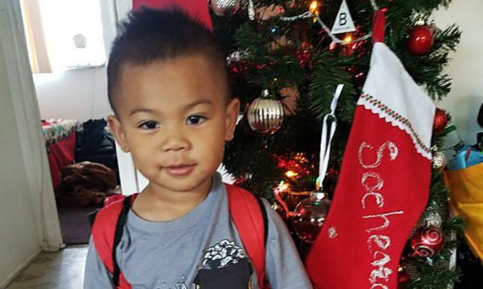 Franklin Ponros at Christmas time. (GoFundMe)