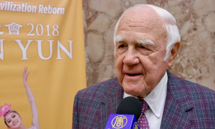 Former Chairman and CEO Thoroughly Enjoys Shen Yun