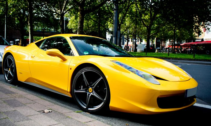 "Ferrari 458 Italia. (""Yellow 458"" by Joshua Singh/Flickr)"