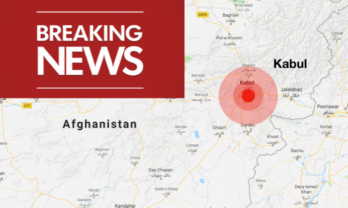 A blast rocked Kabul,