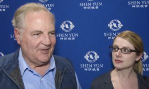 Retired Banking CCO: Shen Yun's Music Is Beautiful