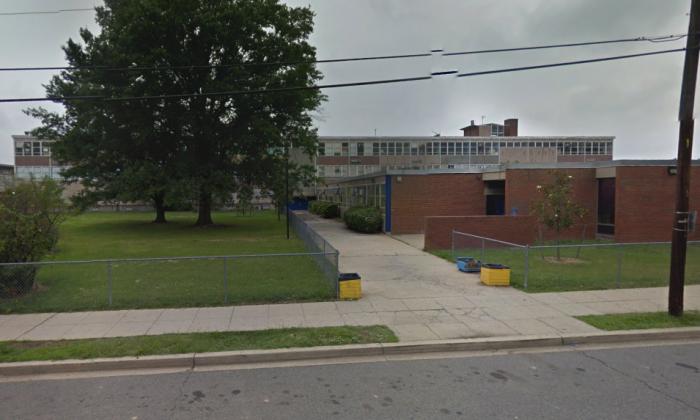 Ballou High School in Washington, D.C. (Screenshot via Google Maps)