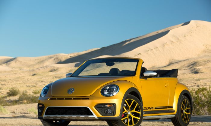 Volkswagen Beetle Convertible Dune. (Courtesy of VW)