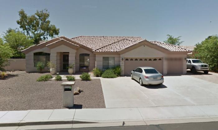 Douglas Haig's home in Mesa, Ariz. (Screenshot via Google Street View)