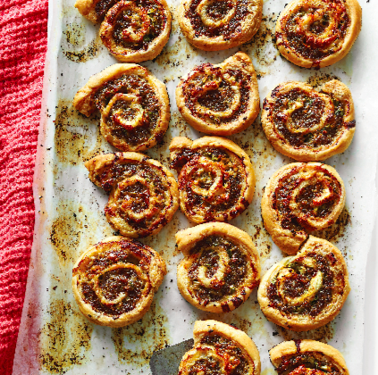 Sausage and White Cheddar Pinwheels (Courtesy of Time Inc.)