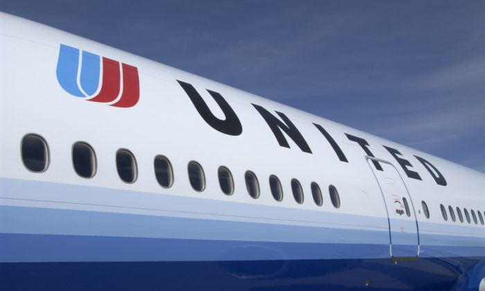 A United Airlines jet in a file photo. (United Airlines/Getty Images)