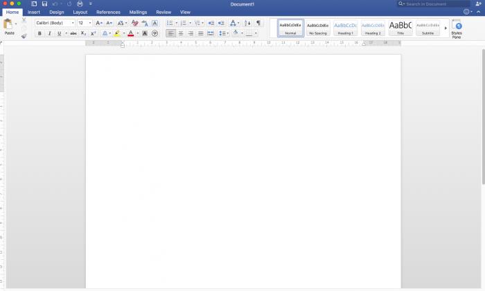 Screenshot of a Microsoft Word processing document. (NTD.tv)