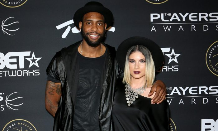 NBA player Rasual Butler (L) and singer Leah LaBelle attend The BET Players' Awards at the Rio Hotel & Casino, July 19, 2015 in Las Vegas, Nevada. (Gabe Ginsberg/Getty Images for BET)