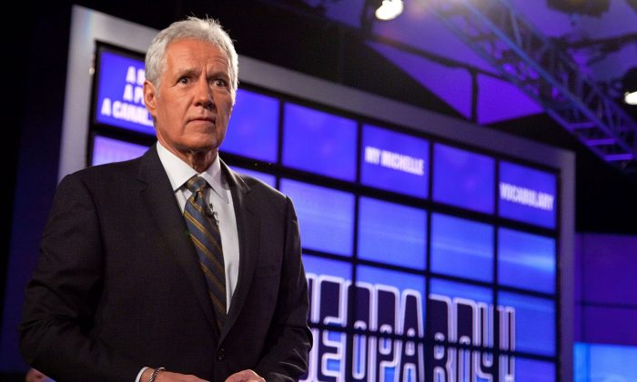 Host of 'Jeopardy!' Alex Trebek in a 2011 file photo. (Photo by Ben Hider/Getty Images)