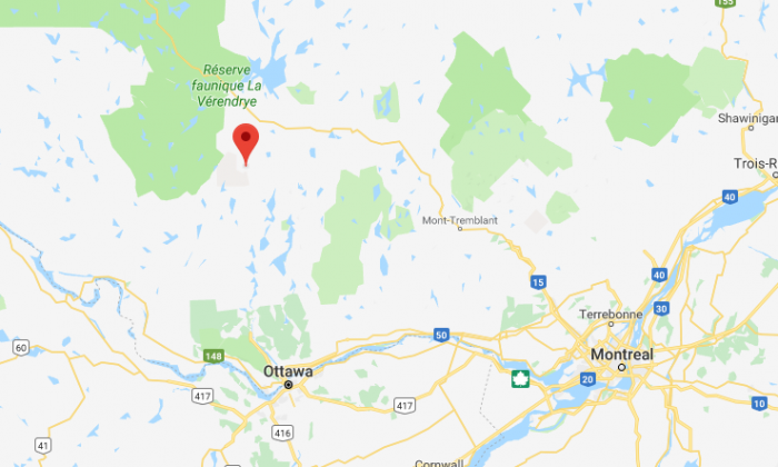 Maniwaki, Quebec, Canada. (Screenshot via Google Maps)