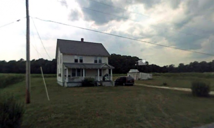 The Mardela Springs home on the 11000 block of Norris Twilley Road in Maryland where three children were allegedly abused beginning in the spring or early summer of 2017. (Screenshot via Google Maps)