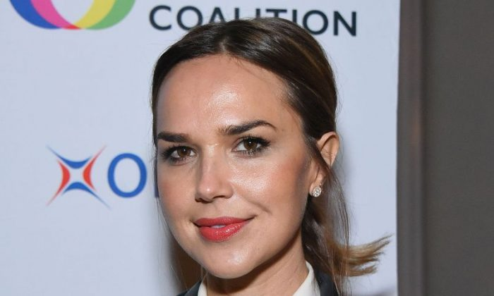 Arielle Kebbel attends the Creative Coalition/Novocure Voices of Impact Dinner on Nov. 5, 2017, in Toluca Lake, Calif.  (Araya Diaz/Getty Images for The Creative Coalition/Novocure)