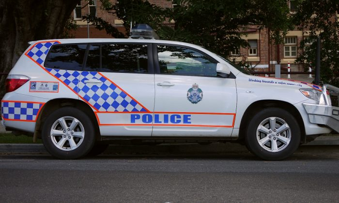 Queensland Police Service Toyota Kluger AWD. (Wikimedia Commons)