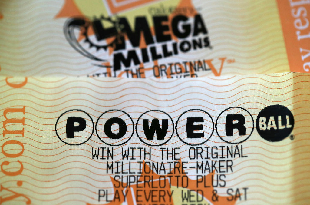 Powerball and Mega Millions lottery tickets