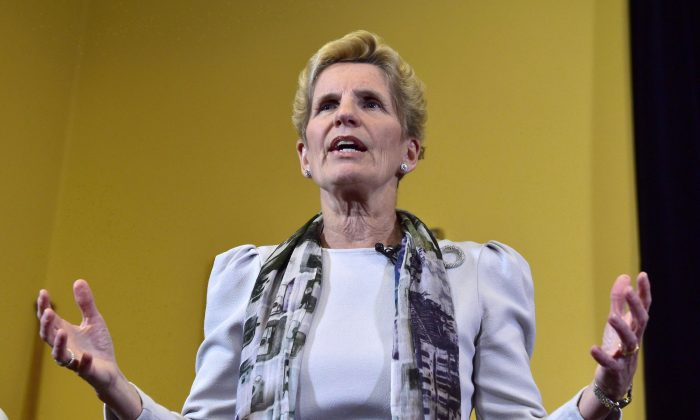 Ontario Premier Kathleen Wynne (The Canadian Press/Frank Gunn)
