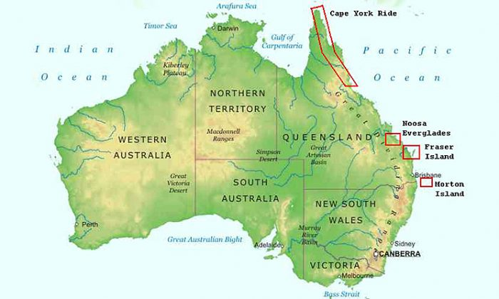 The continent, country, and island of Australia (realworldadventures.com)